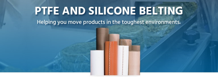 ptfe and silicone belting